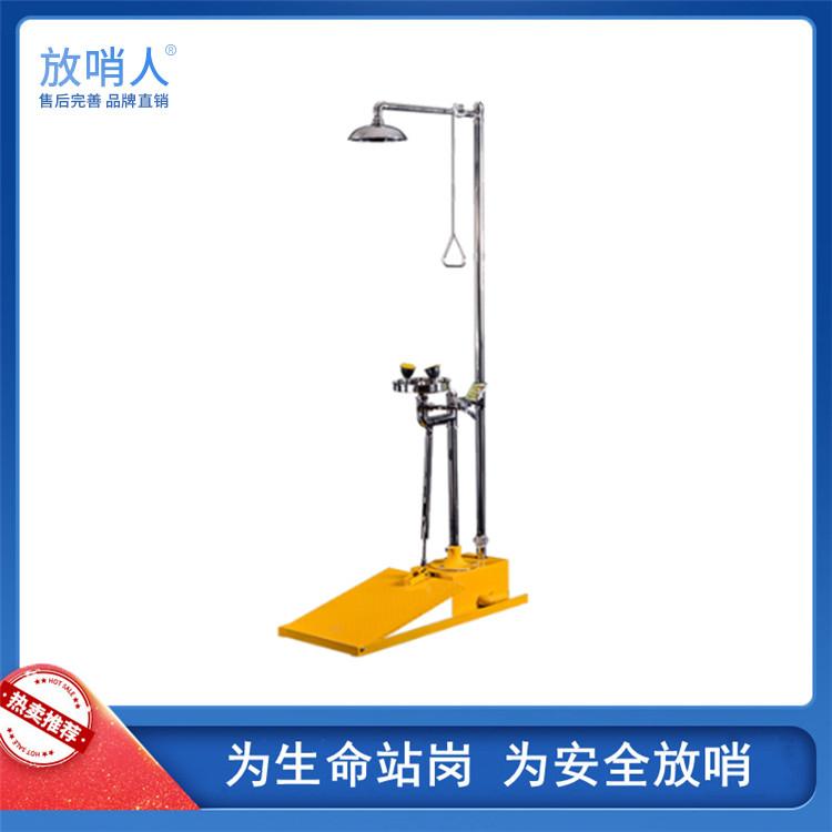 HJ30-5012自动排空不锈钢复合式洗眼器